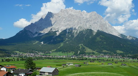 Where's Zugspitze?