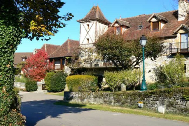 Charming village of Loubressac