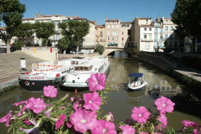 Boats in Narbonne