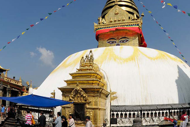 The holiday includes a full day guided tour in Kathmandu
