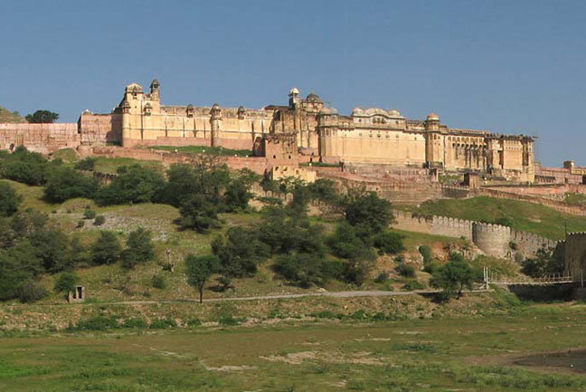 Amber Fort is an impressive site
