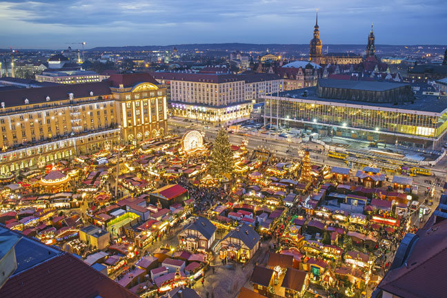 Dresden at Christmas
