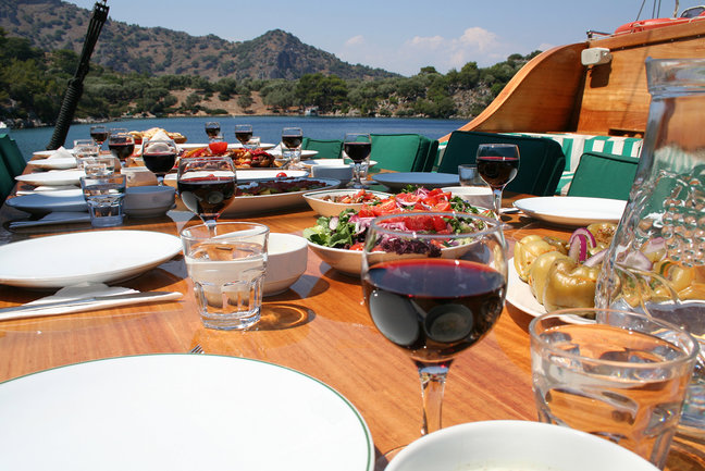 A Gastronomic Gulet Cruise