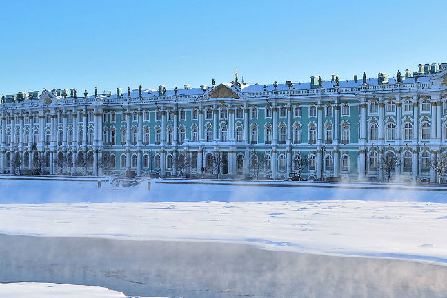 The Hermitage in the Snow