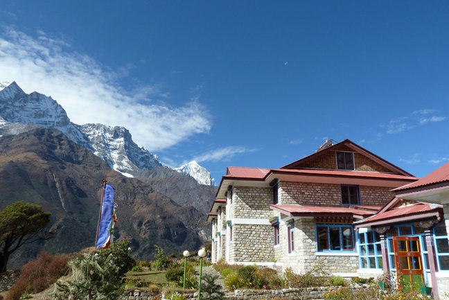 One of the Luxury Lodges on the Everest Base Camp in Style Trek, Mountain Kingdoms