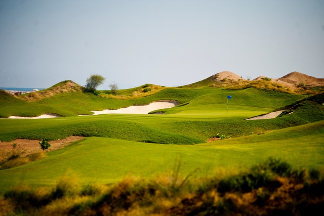 An Omani  Golfing Experience