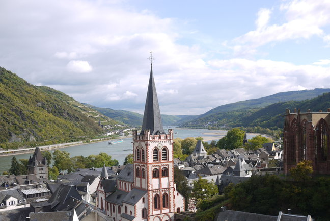 On Foot Holidays - The Rhine