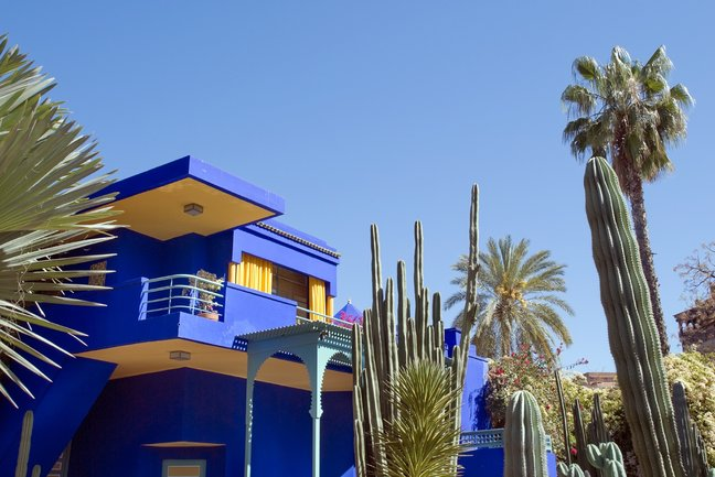 The Majorelle Gardens, Marrakech