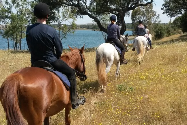 Tailor made riding Algarve