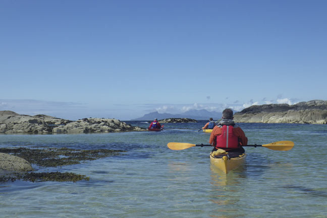 Scottish Sea Kayak Trail Central
