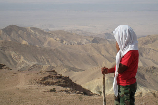 On trek to Negev Desert