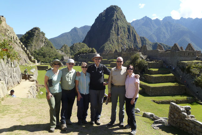 Group at Machu Picchu