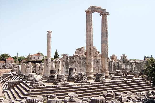 From Halicarnassus to Ephesus