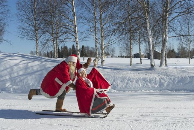 Search for Father Christmas