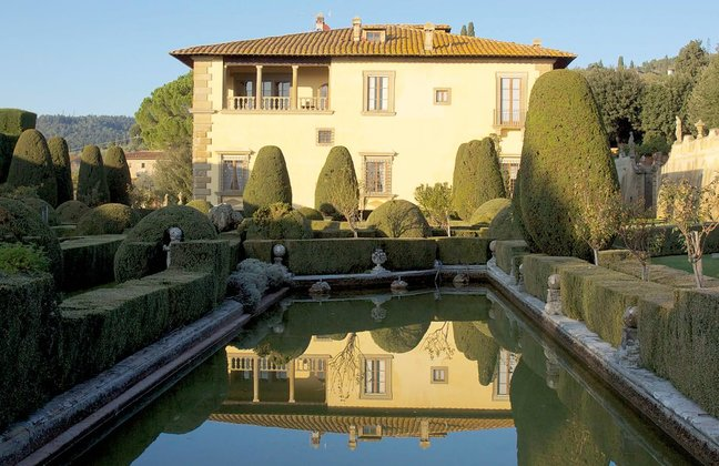 The Villas & Gardens of Florence