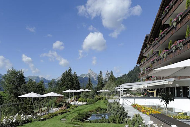 Our 5 star hotel near Gstaad