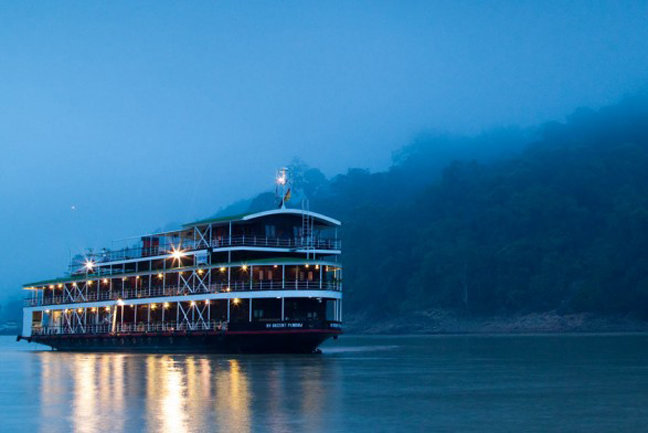 Myanmar Highlights with Cruise