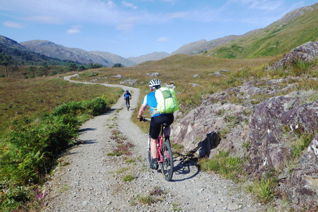 MTB - Bike Across Scotland