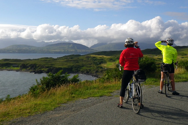 Road Cycling - Inner Hebrides