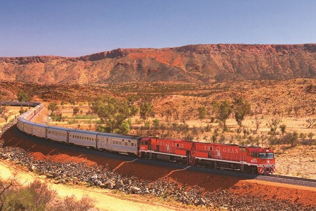 The Ghan & Red Centre Discovery