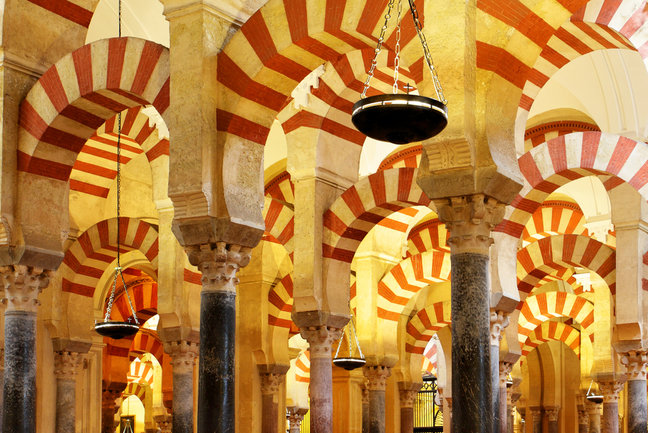 Mezquita cathedral in Cordoba