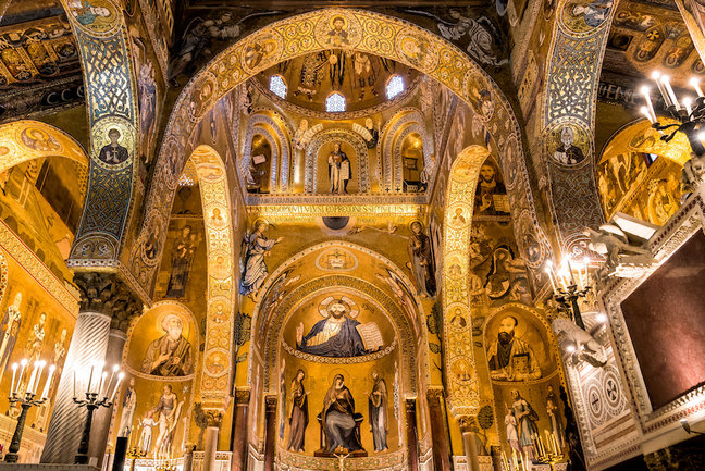 Palatine Chapel of the Royal Palace in Palermo