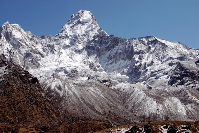 Photo trek to Ama Dablam BC