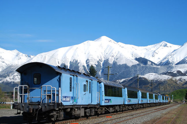 New Zealand Rail Cruise & Coach