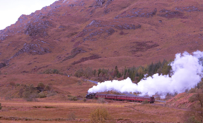 Grand Tour of Scotland by Train