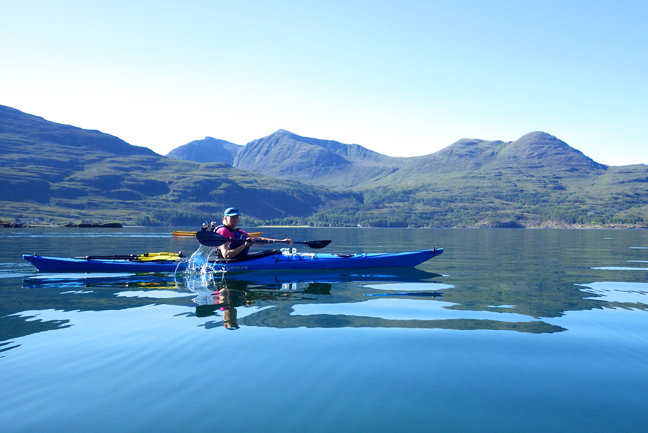 Sea Kayak Scottish Highlands
