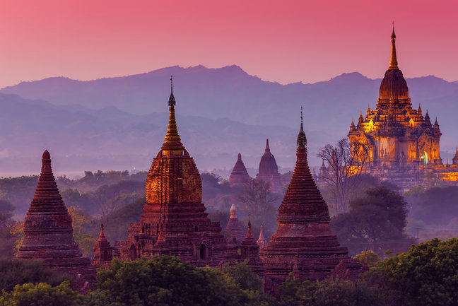 Myanmar - Meandering through