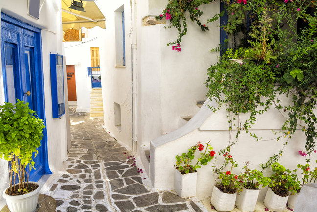 On Foot - Naxos and Amorgos