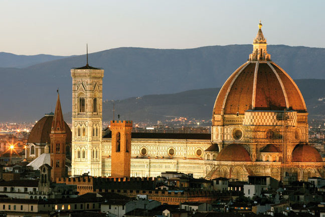 Florence, Perugia and Rome