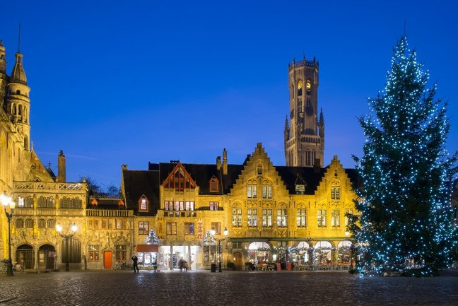 Christmas in Bruges by Rail