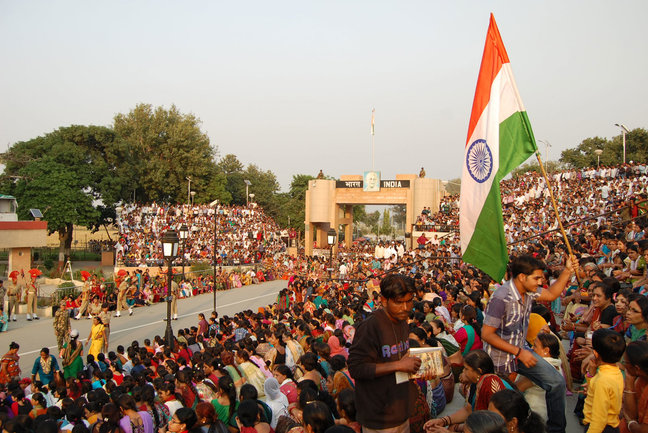 Wagah Border, India