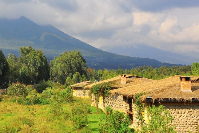 Rwanda is the country of thousand hills and offers stunning views across them.