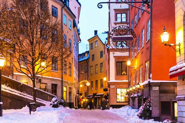 Explore the streets of Stockholm