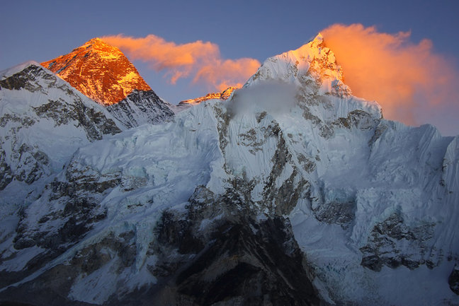 Everest and Nupse from Kalar Pattar
