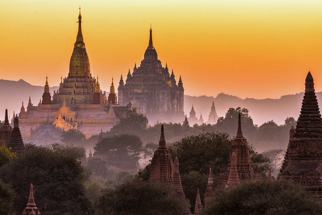 Essential tour of Myanmar