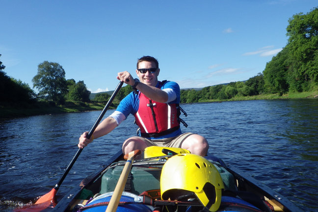 Canoeing - River Spey Descent