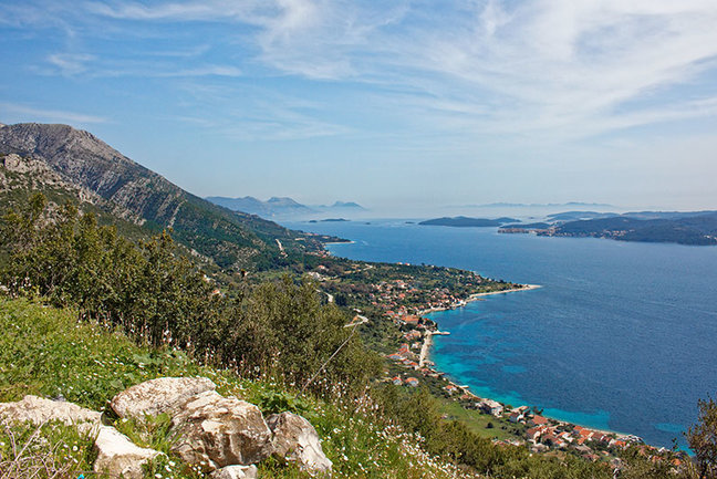 Walking and Cruising Dalmatia