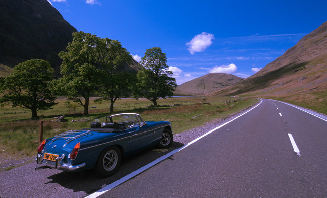 Classic British Car Tours