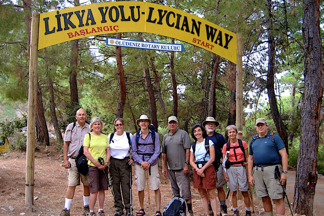 Walking & Cruising Lycian  Shore