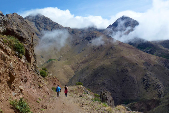 Beneath Djebel Toubkal Walk