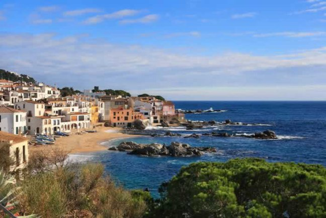 Picturesque town of Calella