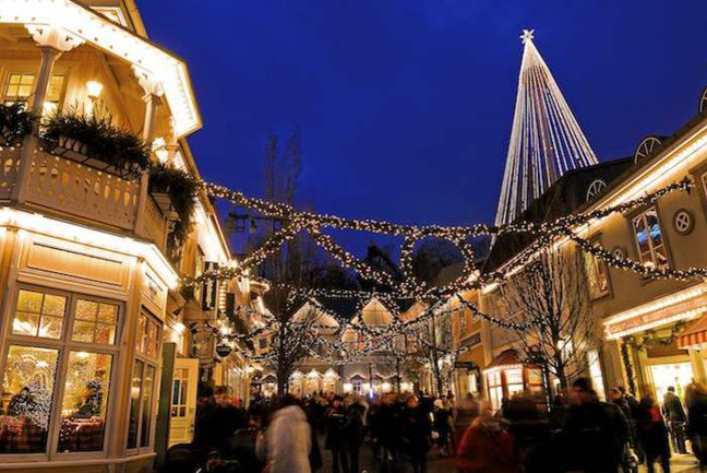 Christmas markets at Liseberg (c) Goteborg tourism