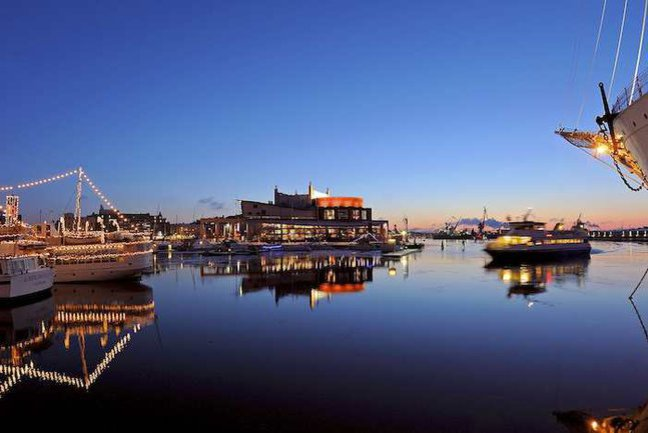 Gothenburg harbour (c) Goteborg tourism
