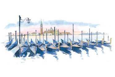 Kirker Venice Watercolour
