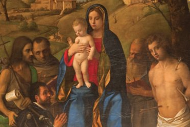 Bellini's Madonna and Child with Saints