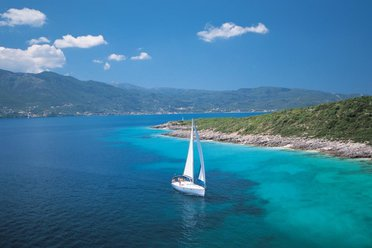 Sailing in the sunny Greek Islands...